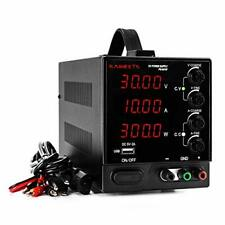 Dc Power Supply Variable 30v 10a 4 Digit Large Display Adjustable Switching