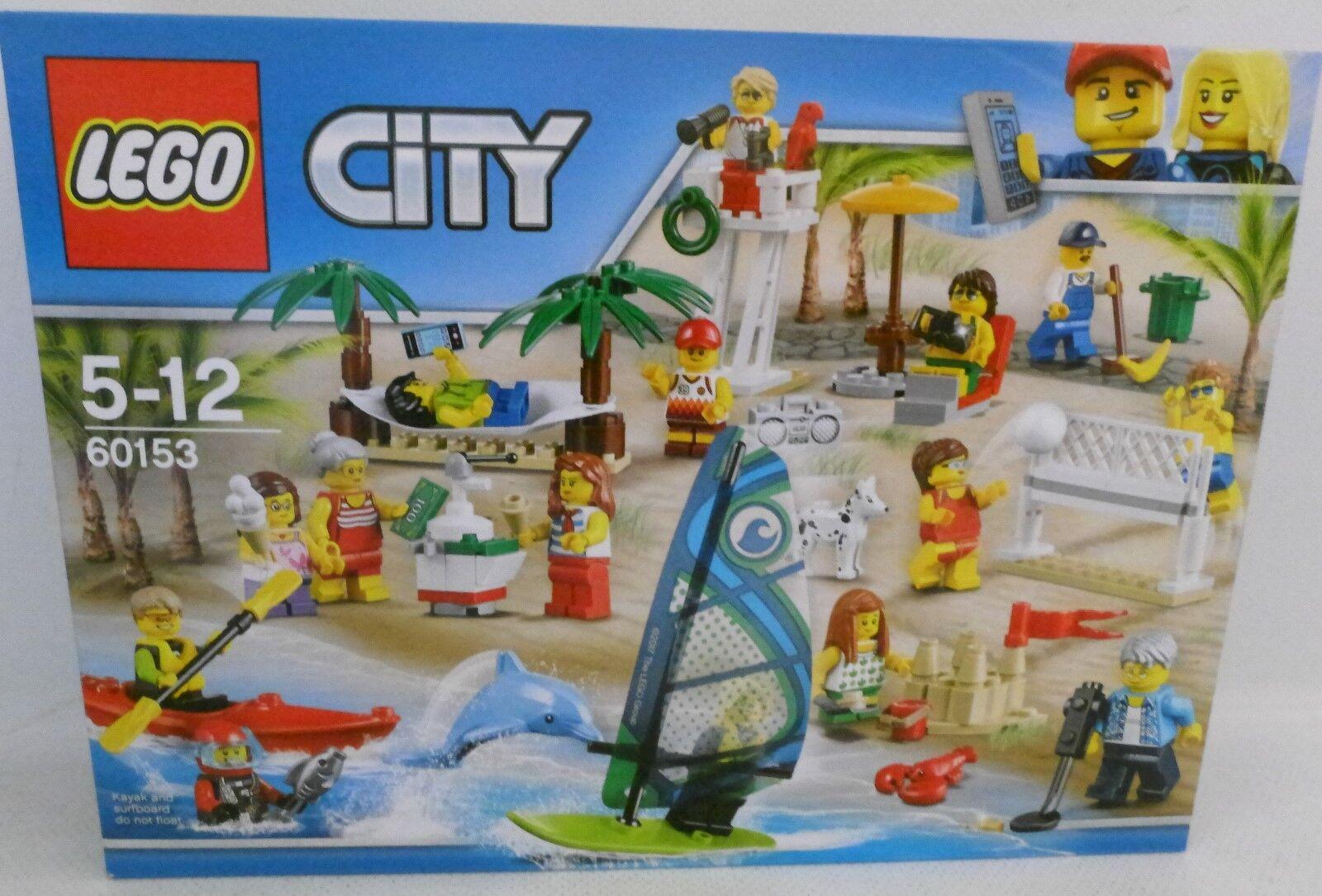 NEU LEGO® City 60153 Stadtbewohner - Ein Tag am Strand OVP