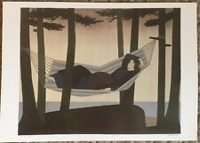 Will Barnet Summer Idyll 1976 Poster  Authorised Reproduction 40x29cm 24