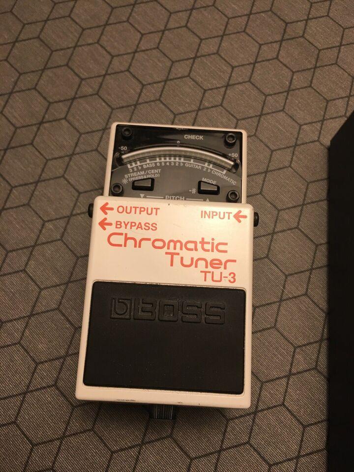 Guitar pedaler, Boss TU-3