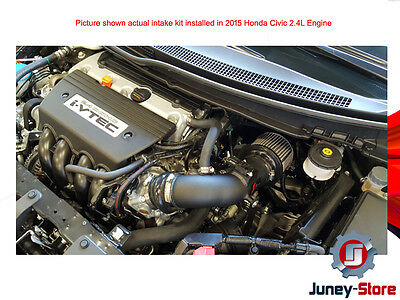 "12-15 FOR Honda Civic Si 2.4L 2.4 AF DYNAMIC Air Intake 3.5/"" COLD AIR INTAKE KIT"