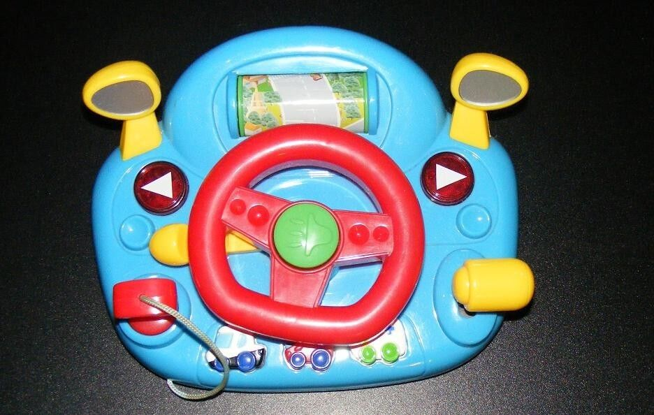 Mallya Steering Wheel Learn To Drive Simulated Toy Driving Machine For Kids For Sale Online Ebay