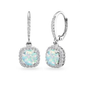 925-Silver-Simulated-Opal-Cushion-Cut-Dangle-Earrings-with-White-Topaz-Accents