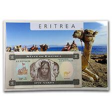 1997 Eritrea 1-20 Nakfa Banknote Set Unc - SKU #45327