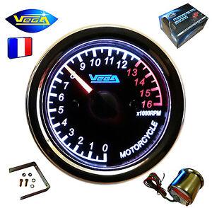 Manometre-VEGA-Compte-tours-Moto-Bateau-0-16000-trs-etanche-inoxydable-12V