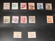 Austria Italian Occupation - Mint and Used