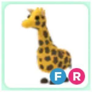 Giraffe Fr Roblox Adopt Me Ebay