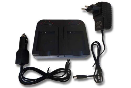 Bateria-cargador dual para kodak lb-052