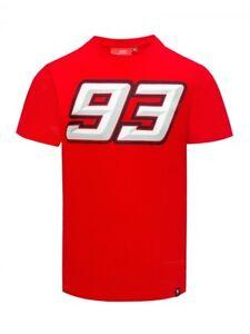 MMMTS 1007 07 New Official Marc Marquez 93 Red T-Shirt