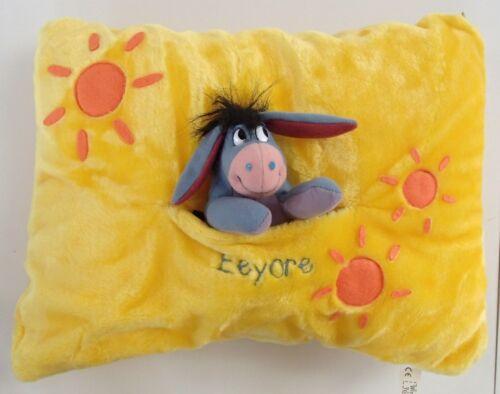 Disney Soft 3d Almohada Cojín desmontable y cubierta Pooh Eeyore Pigglet Tigger Tinker