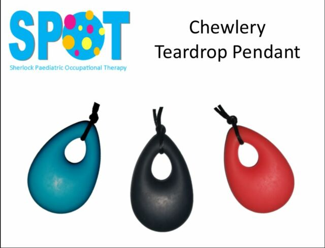 Chewlery Pendant Silicone Chew Necklace AUTISM special needs SENSORY chewy