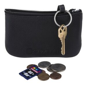 Suvelle Leather Zippered Coin Purse