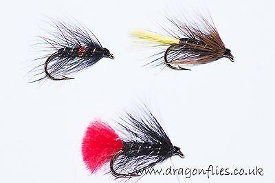 Zulu Viva by Dragonflies 18 Wet Fly Fishing Flies Bibio,Zulu