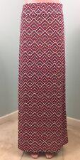NWOT Womens BCBG Maxazria Chevron Striped Maxi Skirt Sz XL Extra Large
