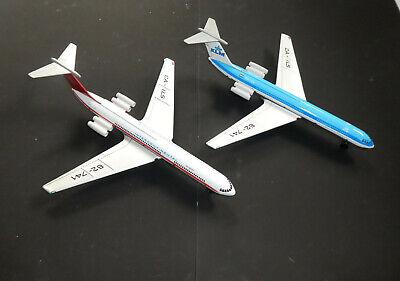 GDR 62-741  Royal Dutch Airlines Länge ca KLM Blech Flugzeug DDR 35 cm