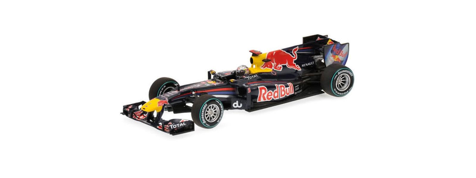 Minichamps 1 43 2010 rojo Bull Racing F1 Abu Dhabi Gp Sebastien Vettel 410100105