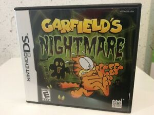 Nintendo Ds Garfield S Nightmare Case Only No Game No Manual Ebay
