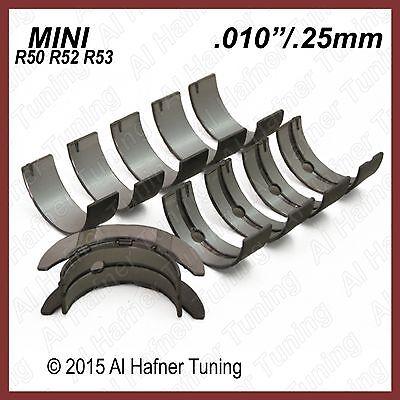 02-08 MINI COOPER BASE//S//R50//R52//R53 W10//W11 CRANKSHAFT MAIN BEARING SET  STD