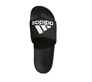 e0c6a7b5012 Adidas Men s Adilette Comfort Slide On Sandals - Black - New