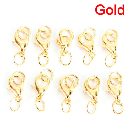 20PC//Set Alloy Lobster Clasps Claw Jewelry Hook Making DIY Necklace Bracelet KK