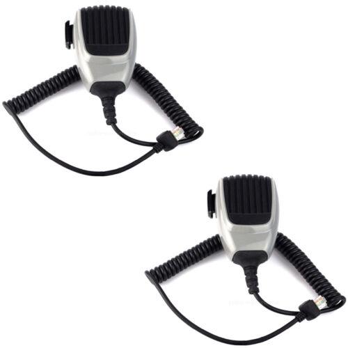 2Pcs HM-148G 6 pin Microphone ICOM IC-F121 IC-F9511HT IC-F5060D IC-F6060D Radios