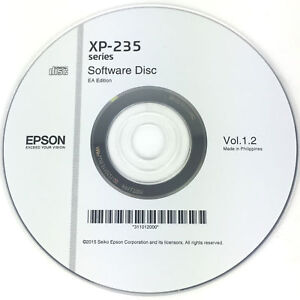 Epson-Printer-Driver-Disc-CD-Expression-Home-XP-235-Software-Disk