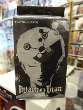 Attack On Titan Official Black Box Anime & Manga Playing Cards