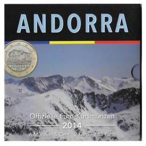 Utile Euro Pack Monedas 3,85 Euros Andorra Año 2014 Sin Circular Sc Des Biens De Chaque Description Sont Disponibles