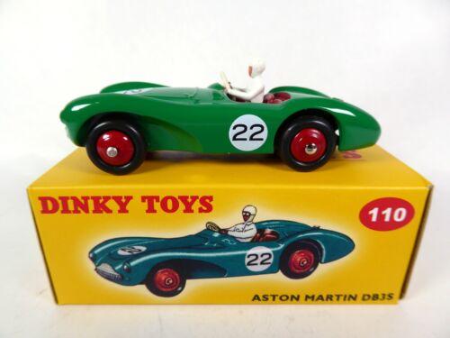 Aston Martin DB3 Sports green DINKY TOYS DeAgostini MODELLAUTO CAR DIECAST 110