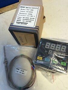 NEW-MYPIN-TA7-SRR-PID-Temperature-Controller-amp-2M-PT100-Thermocouple-90-260V-BM