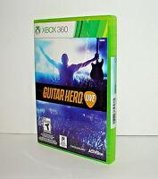 Genuine Microsoft Xbox 360 Guitar Hero Live Game Only Brand