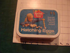 Vintage toy: 1971 HATCHING EGGS complete toy from Romper Room, w Chicks, cool