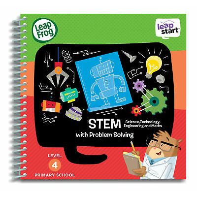 Leapfrog Leapstart Level 4, Stem With Problem Solving 30+ Page Activity Book