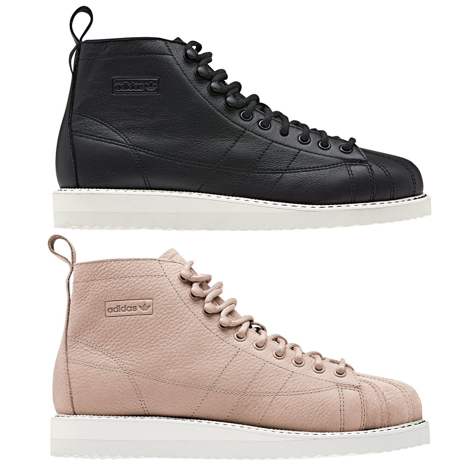 Adidas Originals Superstar Stiefel Damen Winterschuhe WinterStiefel Schnürschuhe NEU