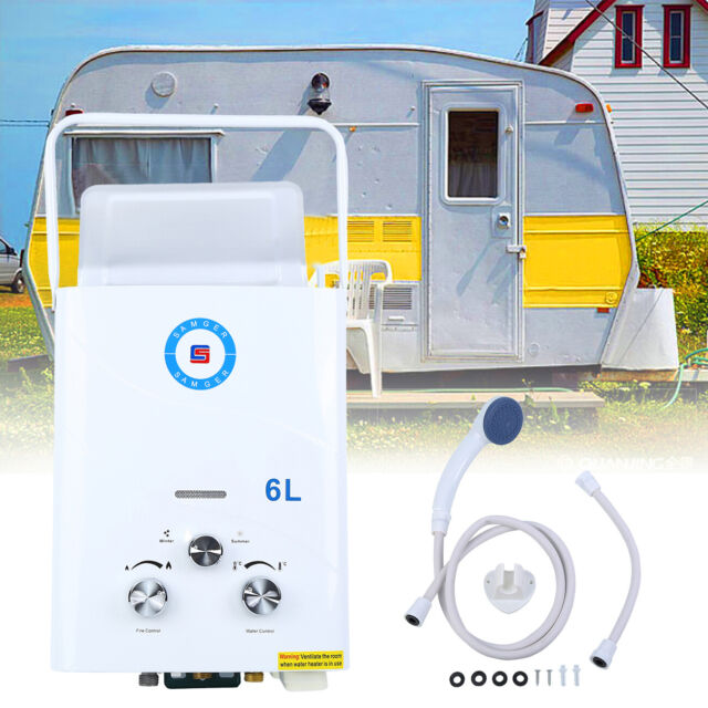Superb 6L 12Kw Instant Hot Water Heater Propane Gas Lpg Tankless Boiler Home Outdoor Rv Download Free Architecture Designs Viewormadebymaigaardcom