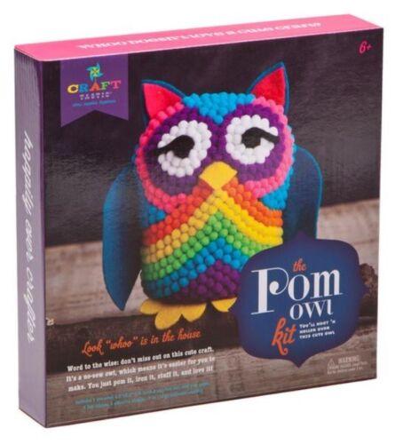 New Kids Craft Set-Ann Williams The Pom Owl Kit-Great Quality
