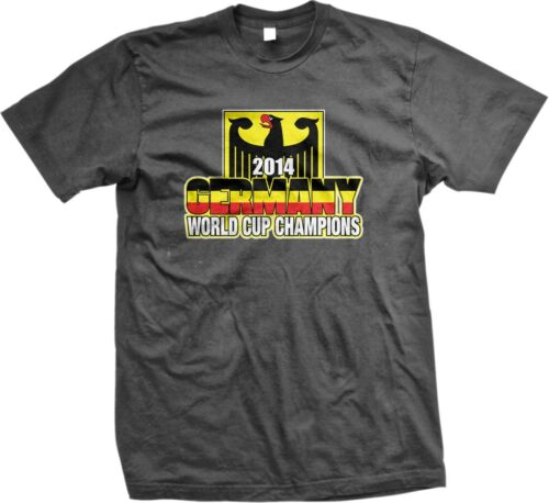 Germany 2014 World Cup Champions Eagle German Soccer Men/'s T-shirt
