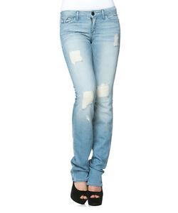 dritta Novità color a X Destroyed Bright ambra 26 Jeans Side gamba 33 WPRnHEA