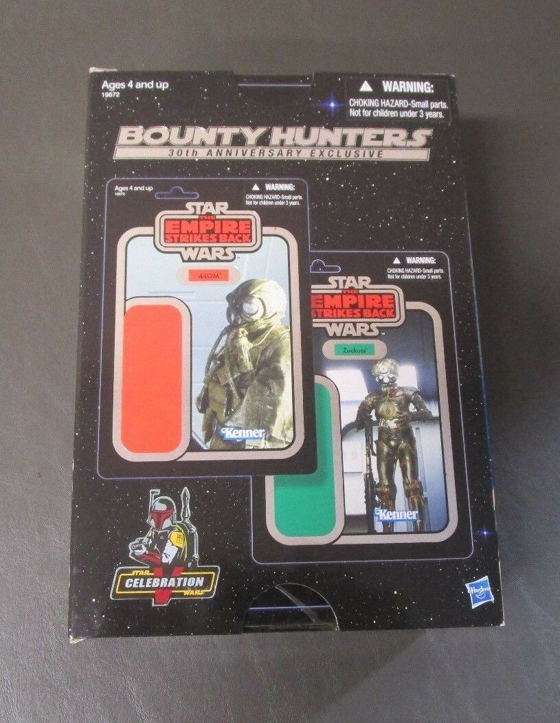 Bounty Hunters Celebration V Exclusive STAR WARS The Vintage Collection MIB