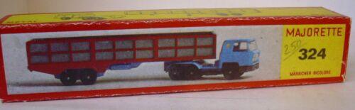 Repro Box Majorette Nr.324 Maraicher Bicolor