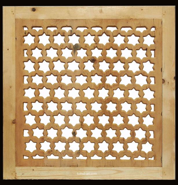 orient Holz Fenster Gitter Ziergitter islamic wooden Screen mashrabiya panel new