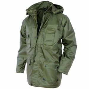 Mil-Tec Military PARKA  Dubon  - Mens Hooded Winter Jacket Olive OD ... 6e83f849b69