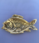 """Brass ashtray,/""""Fish/"""",antique design,rare,very detailed item,collectable"""