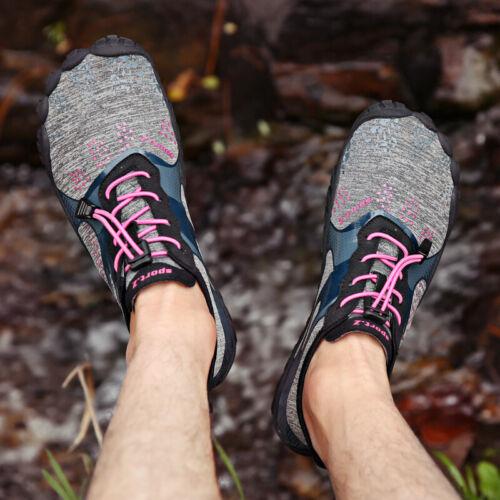 Mens Water Shoes Barefoot Skin Socks Quick Dry Aqua Beach Swim Surf Sports Size
