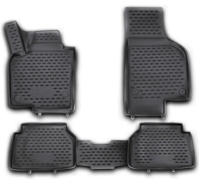 Gummimatten VW Crafter II ab 2017 Gummi Fußmatten 2 teilig 3D Schalen Qualität