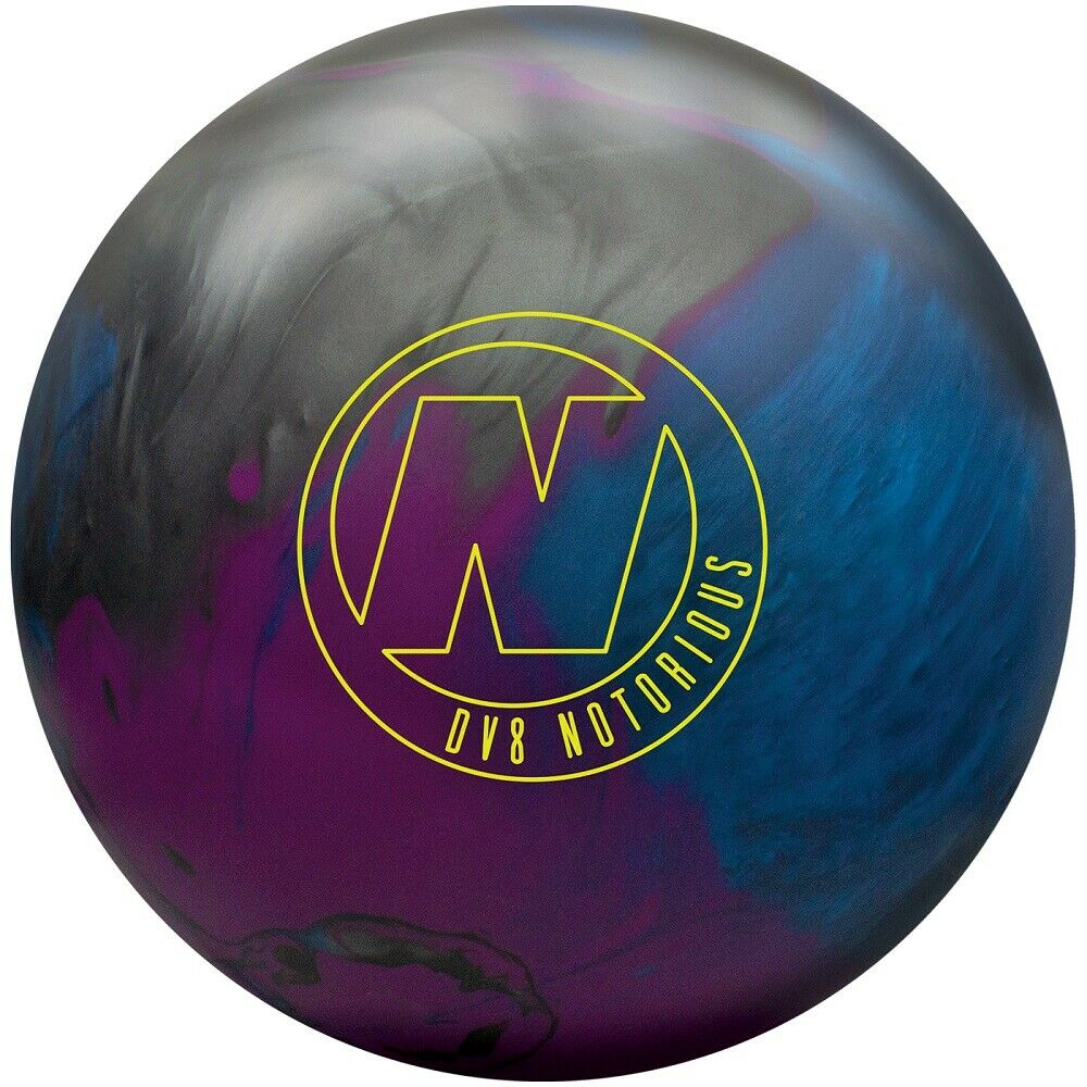 14lb DV8 NOTORIOUS Hybrid Reactive Bowling Ball