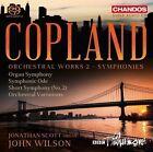 Copland: Orchestral Works, Vol. 2 - Symphonies Super Audio Hybrid CD (CD, Sep-2016, Chandos)