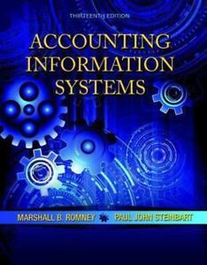 Image Is Loading Accounting Information Systems By Marshall B Romney And