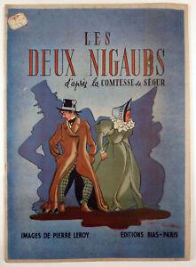 Les-deux-nigauds-d-039-apres-la-Comtesse-de-Segur-Pierre-Leroy-Ed-Bias-1946-TBE