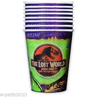 Jurassic Park Lost World 9oz Paper Cups (8) Birthday Party Supplies Beverage
